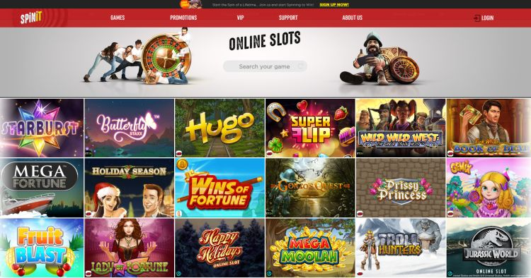 spinit online casino review